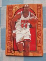 Derrick Coleman Hardwood Leader 1994/95-ös kosárlabda kártya (Flair)