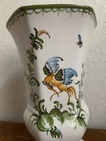 Francia fajansz váza