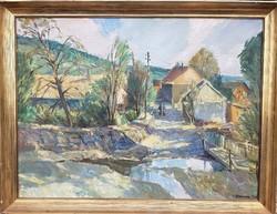 Udvary Pál / Mátrai falu