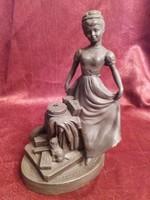 Ir bronz figurális szobor Royal Tara kollekcióból!