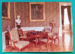 Magyarország,Keszthely,Festetics-kastély,Női nappaliszoba ,postatiszta képeslap,fotó