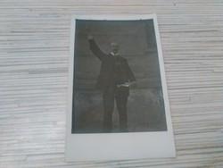 Antik fotó képeslap.