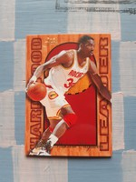 Hakeem Olajuwon Hardwood Leader kosárlabda kártya (1994/95, Flair)