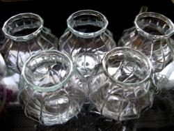 Kis vintage reimsi csavart váza, mécses tartó