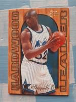 Shaq O'Neal Hardwood Leader kosárlabda kártya (1994/95, Flair insert)