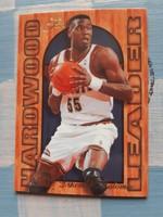 Dikembe Mutombo insert Hardwood Leader kosárlabda kártya (Flair, 1994/95)
