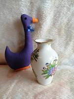 21174A35 Herendi porcelán Viktória mintás váza