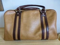Régi,retro,kiváló állapotú,bőr utazó táska