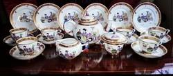 Herend MING Luxury Breakfast breakfast set for 6 people Herendi MING teás és reggeliző készlet