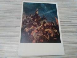 Régi képeslap. Lenin.
