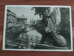 Leningrád, Griboedov csatorna, 1952