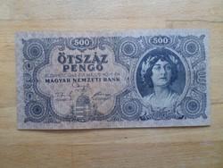500 Pengő 1945 papírpénz