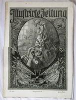 I.Világháborús német nyelvű képes újság, 1916 február 10,32 oldal.