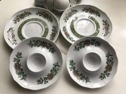 Hutschenreuther porcelán reggeliző szett