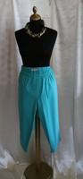 Nyári 3/4-es 4XL új nadrág divatos zöld színvilággal  50/52/54 méretre