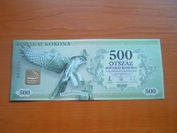 500 BOCSKAI KORONA 2012 HAJDUNÁNÁS HAJTATLAN!! KERECENSÓLYOM