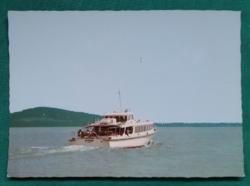 Balatoni képeslap,Györök vízibusz 1988,,postatiszta