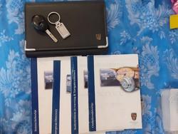 Rover 75 kulcs, kulcstartó, mappa, szervízkönyv, műszaki leírás