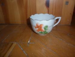 herendi porcelán csésze sérült