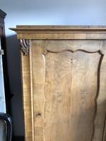 Egyajtós Biedermeier ruhásszekrény, szekrény