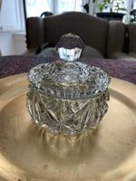 Gyönyörű antik ólomkristály bombonier