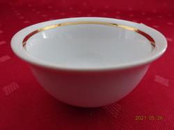 Jugoszláv porcelán kupica, arany csillaggal az alján.