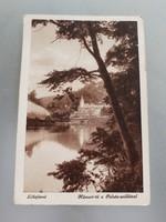 Régi képeslap Lillafüred Hámori-tó Palota szálló levelezőlap