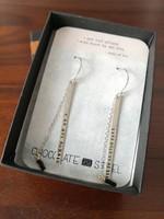Új 925 ezüst, arany fülbevaló, Jeanne d'Arc-idézetes egyedi ötvösmunka Los Angelesből 66 dollár