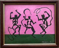 Korniss D. jelzéssel eladó festmény