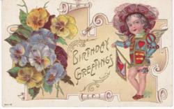 Születésnapi üdvözlő képeslap