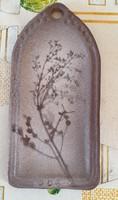 Vadvirág-nyomat falikerámia