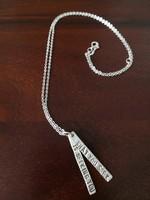 Új 925 ezüst medál, nyaklánc, Rúmí-idézetes egyedi ötvösmunka Los Angelesből 64 dollár
