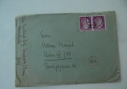 II. világháborús német levél irat dokumentum (AA-0530)