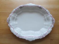 Antik Bohemia Giesshübel N.G.F. porcelán kínáló tál