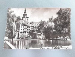 Régi képeslap 1957 Lillafüred Palotaszálló levelezőlap