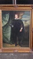 Rupert von der Pfalz herceg  portréja,nagy méretű festmény