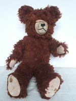 Old weeping straw teddy bear, 50 cm