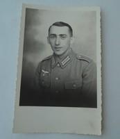 II. világháborús Német katona fénykép képeslap levelezőlap