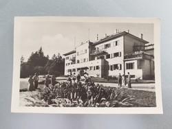Régi képeslap 1958 Sopron üdülő Lővér levelezőlap