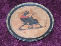 Görög kerámia fali tányér