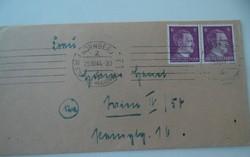 II. világháborús német levél boríték (AA-0528) 1944