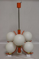Art Deco Napako csillárok, Vintage mennyezeti lámpa