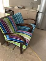 Eredeti Art deco: Designer fotelek párban