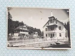 Régi képeslap 1943 Málnás fürdő levelezőlap