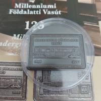 2021. évi - Millenniumi Földalatti Vasút 2000 forint (prospektussal)