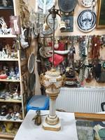 Régi Felújjitott nápolyi asztali lámpa