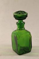 Antik zöld gyógyszertári vagy likőrös üveg 292