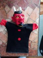 Retro/antik játek báb, ördög