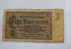 Régi német (1923-36) papírpénz