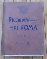 RICORDO DI ROMA PARTE I. ACQUARELLI